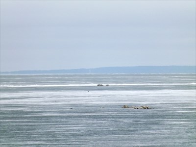 Looking eastward toward Grand Beach
