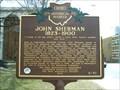 Image for John Sherman, 1823-1900 : The Sherman Anti-Trust Act Marker #6-70