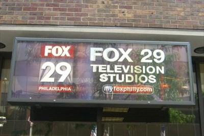 Fox 29 TV Studios -- Philadelphia, PA USA - Television and