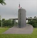 Image for Submarine on Land - St Marys, Georgia, USA.