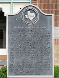 Image for 1933 Weatherford City Hall