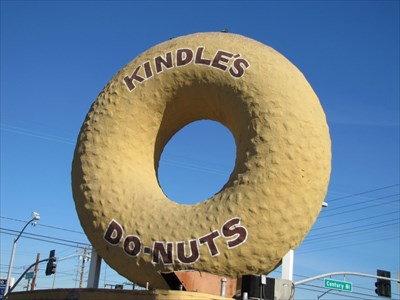 Kindle's Donuts Giant Donut, Los Angeles, California