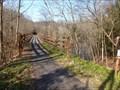 Image for Monroe Bridge, Butler-Freeport Trail, Freeport, Pennsylvania