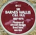 Image for Sir Barnes Wallis - New Cross Road, London, UK