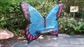 Image for Butterfly Bench - Central Florida Zoo - Sanford, Florida