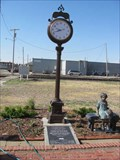 Image for Union Pacific Railroad Depot Clock - Concordia, KS