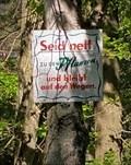 Image for Seid nett zu den Pflanzen - Hamburg, Germany