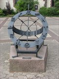 Image for Sundial of church (Luther-Kirche) square, Holzminden