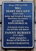Image for Fanny Burney - St Alban's Street, Windsor, UK