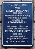 Image for Fanny Burney - St Alban's Street, Windsor, UK