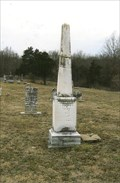 Image for Petigrew Obelisk - Keytesville City Cemetery - Keytesville, MO