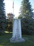 Image for War Memorial - Castleton, ON