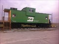 Image for Burlington Northern Caboose 12132 - Lincoln, Nebraska