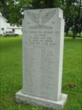 Image for Vietnam War Memorial, Village Green, Franklin, VT, USA