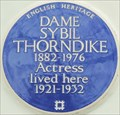 Image for Dame Sybil Thorndike - Carlyle Square, London, UK