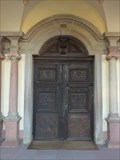 Image for Doorway at St. Mauritius (Ebersmunster) - Alsace / France