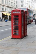 Image for Red Telephone Boxes - Strand, London, UK