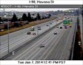 Image for I-90 at Havana Street Webcam - Spokane, WA