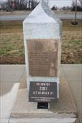 Image for Old Military Road DAR Marker -- US 69 at KS 171, Pittsburg KS