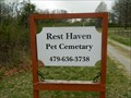 Image for Rest Haven Pet Cemetery - Bentonville, Ar.