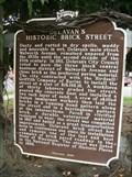 Image for Delavan's Historic Brick Street Historical Marker