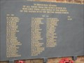 Image for Ely Musicians Memorial - Combined