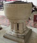 Image for Drum Font - Church Of Saints Nicholas & John - Pembroke, Wales.