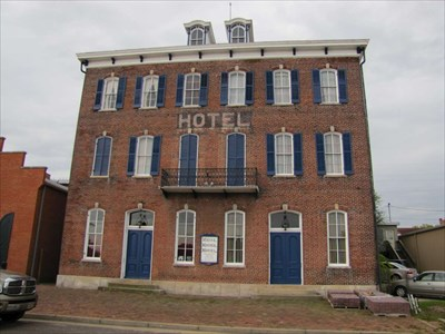 White House Hotel Hermann Historic District Missouri Nrhp Districts Contributing Buildings On Waymarking