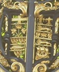 Image for Royal Coat of Arms of the Dominion of Canada -- Canada Gate, Buckingham Palace, Westminster, London, UK