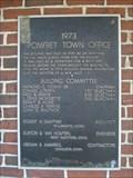 Image for Pomfret Town Office - 1973 - Pomfret, CT