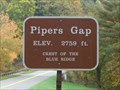 Image for Piper's Gap 2759ft