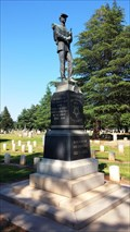 Image for Civil War Monument - Chico Cemetery - Chico, CA