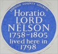 Image for Horatio, Lord Nelson - New Bond Street, London, UK