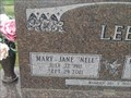Image for 100 - Mary Jane Lee - Cassville, MO