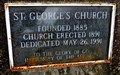 Image for St. George's Church - 1891 - Enderby, BC