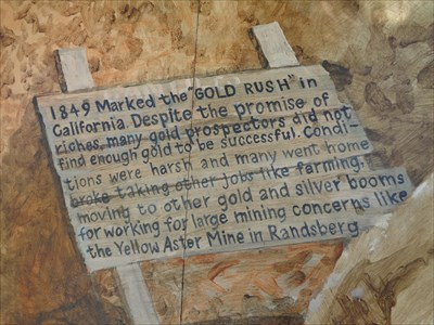 Mining the Mojave - Gold Mural