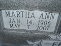 Image for 101 - Martha Ann Ferrell - Luther, OK