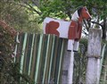 Image for Wooden Horse Mailbox.  Waikouaiti. Otago. New Zealand.