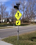 Image for Solar Powered Pedestrian Crossing - Rochester, MN