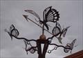 Image for Butterfly Weathervane - Pantano & Stella - Tucson, AZ