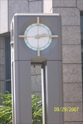 Image for AmSouth Building Clock, Tampa, FL