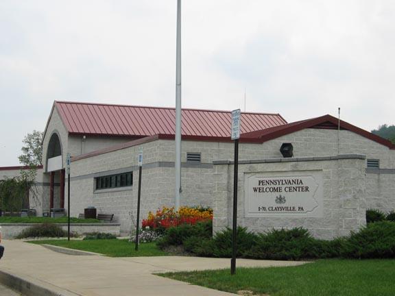 I 70 Claysville Welcome Center Pennsylvania Highway Rest Areas On Waymarking