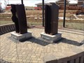 Image for 9/11 Memorial beams - Coal City, Illinois