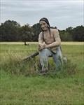 Image for Kneeling Indian Statue - Somerville, TX