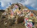 Image for Graffiti Rock in Del Puerto Canyon, California