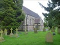 Image for Parish Church of All Saints  Churchyard Cemetery  - Scholar Green, Cheshire East, UK.