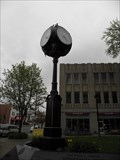 Image for Paul L. David Memorial Clock, Massillon, Ohio