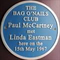Image for Paul McCartney - Kingly Street, London, UK