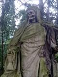Image for Der Sensenmann auf dem Melaten-Friedhof - Cologne, NRW, Germany
