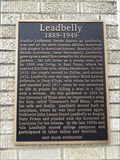 Image for Leadbelly - Dallas, TX